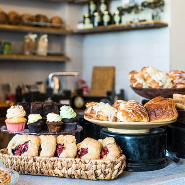 Bakeshop : Croissanty, Mufiny, Cookies sušenky